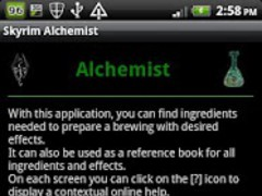 Skyrim Alchemist 1.7 Screenshot
