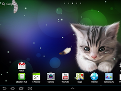 Sleepy kitten live wallpaper 1.0.1 Screenshot