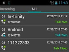 Slide Call-log  Screenshot