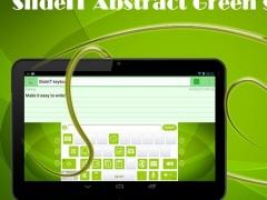 SlideIT Abstract Green Skin 4.0 Screenshot