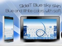 SlideIT Blue Sky Skin 4.0 Screenshot