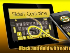 SlideIT Gold Mine Skin 4.0 Screenshot