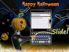 SlideIT Happy Halloween Skin 4.0 Screenshot