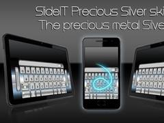 SlideIT Precious Silver Skin 4.0 Screenshot