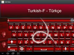 SlideIT Turkish-F Pack 3.0 Screenshot