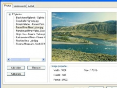 Slideshow Screensaver Maker 1.2.1 Screenshot