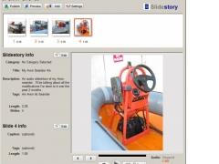 Slidestory Publisher 1.01 Screenshot