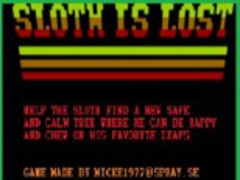 Sloth is Lost THE GAME 1.0 Screenshot