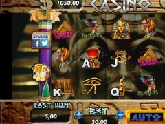 SLOTS Anciant Egypt Casino Game 1.0 Screenshot