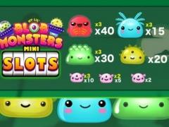 Slots Mini Blob Monsters FREE: Fun Vegas Style 3-Reel Slot Machine by Poker-Face Apps 1.0 Screenshot