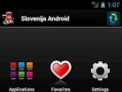 Slovenija Android 2.5 Screenshot