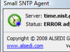 Small SNTP Agent 1.1 Screenshot