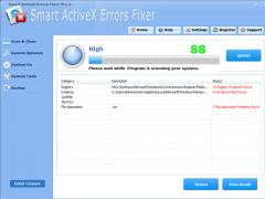 Smart ActiveX Errors Fixer Pro 4.3.8 Screenshot