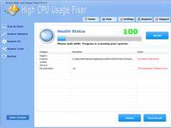 Smart High Cpu Usage Fixer Pro 4.3.2 Screenshot