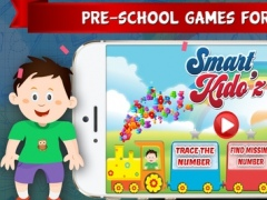 Smart Kido'z - 10 Amazing Brain IQ Development Game For Kids & Toddlers to Learn Tracing Number , addition , Subtraction , Free Worksheets For Preschool & Kindergarten Free 1.3 Screenshot