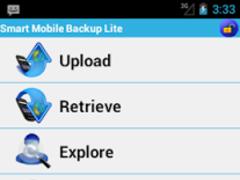 Smart Mobile Backup Lite 1.5 Screenshot