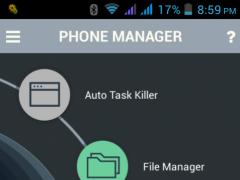 Smart Phone Manager  Screenshot