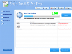 Smart Rundll32 Exe Fixer Pro 4.3.3 Screenshot