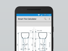 Smart Tire Size Calculator 0.8 Screenshot