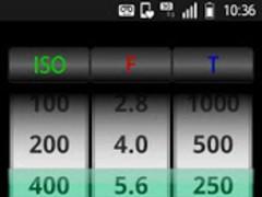 SmartLightMeterFree 1.03 Screenshot