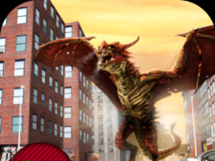Smashy Dragon City Rampage 3D  Screenshot