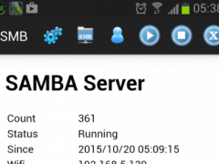 SMB cifs samba file server 1.2 Screenshot