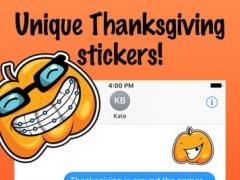 Smiley Pumpkin Stickers 1.0 Screenshot