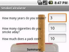 Smoke Calculator 1.0 Screenshot