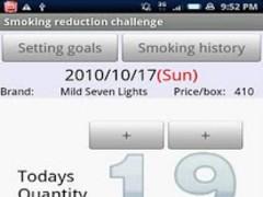 Smoking reduction 1.0.36 Screenshot