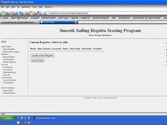 Smooth Sailing Regatta Scoring 1.0 Screenshot