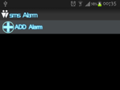 SMS Alarm(Important MSG) 1.0 Screenshot