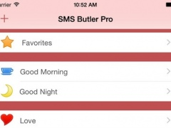 SMS Butler Pro - Your Quotes Archive 2.2 Screenshot