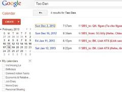 SMS Call Calendar Tracking 1.3.16 Screenshot