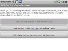 SMS+Car offline Voice Control 2.6 Screenshot