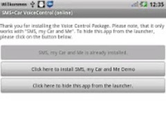 SMS+Car online Voice Control 2.5.2 Screenshot
