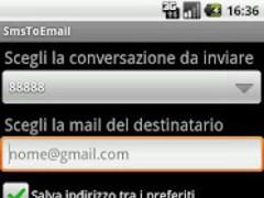 Sms Email Backup 1.1 Screenshot
