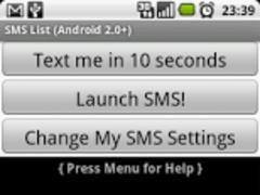 SMS Faker™ for 2.0+ (Adfree) 20120220 Screenshot