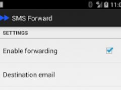 SMS Forward - Trial 1.0.6 Screenshot