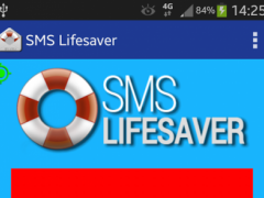 SMS Lifesaver 1.0 Screenshot