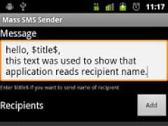 SMS Marketing Tool 1.0 Screenshot