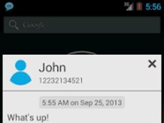 SMS Notifier (SMS Popup) 3.2.2 Screenshot