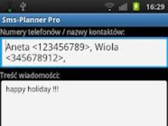 Sms-Planner Pro 2.6.4 Screenshot