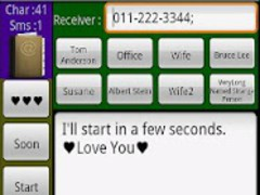 SMS Quick (1 sec. Sending) 1.0 Screenshot