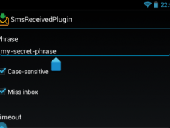 SMS received plugin for Locale 4.0 Screenshot