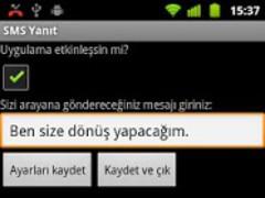 SMS Reply 1.0.2 Screenshot