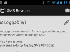 SMS Revealer ✉ 1.0 Screenshot