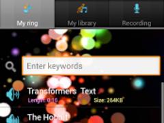 SMS ringtones free 3.4 Screenshot
