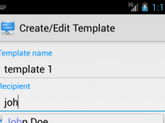 SMS Template Plus 1.5 Screenshot