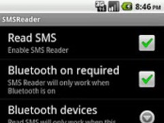 SMSReader 2.0.1 Screenshot