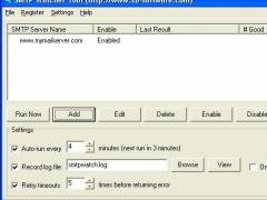 SMTP Watcher 1.0 Screenshot